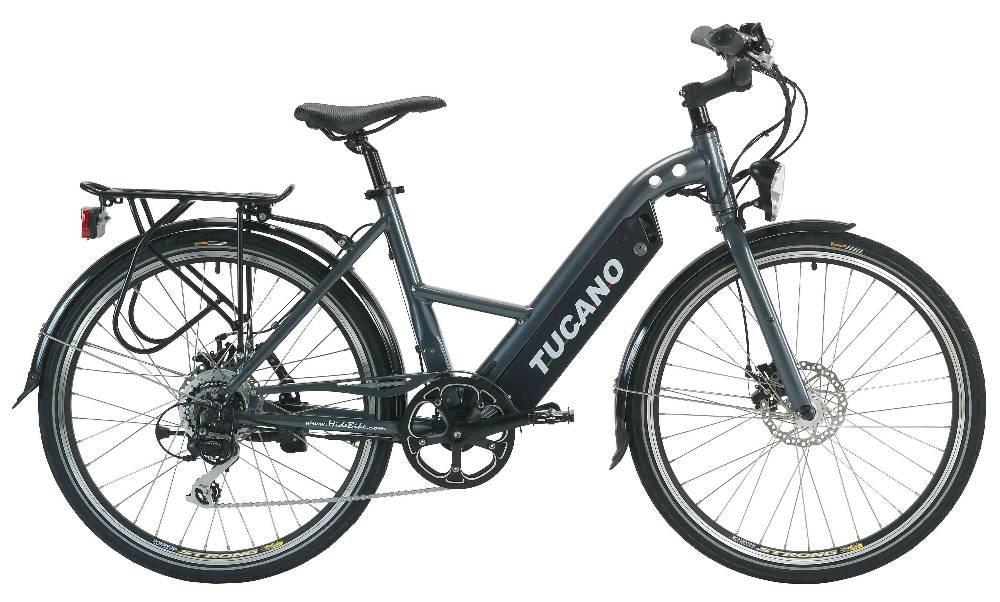 Bicicleta con motor eléctrico y ordenador de a bordo