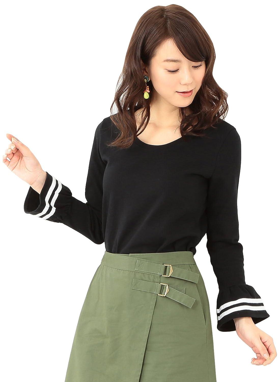 Amazon.co.jp: (レイビームス) Ray BEAMS / ライン フレアーカフス Uネック 63140068152 ナチュラル ONE SIZE: 服&ファッション小物通販