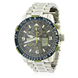 Citizen Watches Men's JY8078-52L Promaster Skyhawk A-T Silver Tone One Size (Color: Silver Tone, Tamaño: One Size)