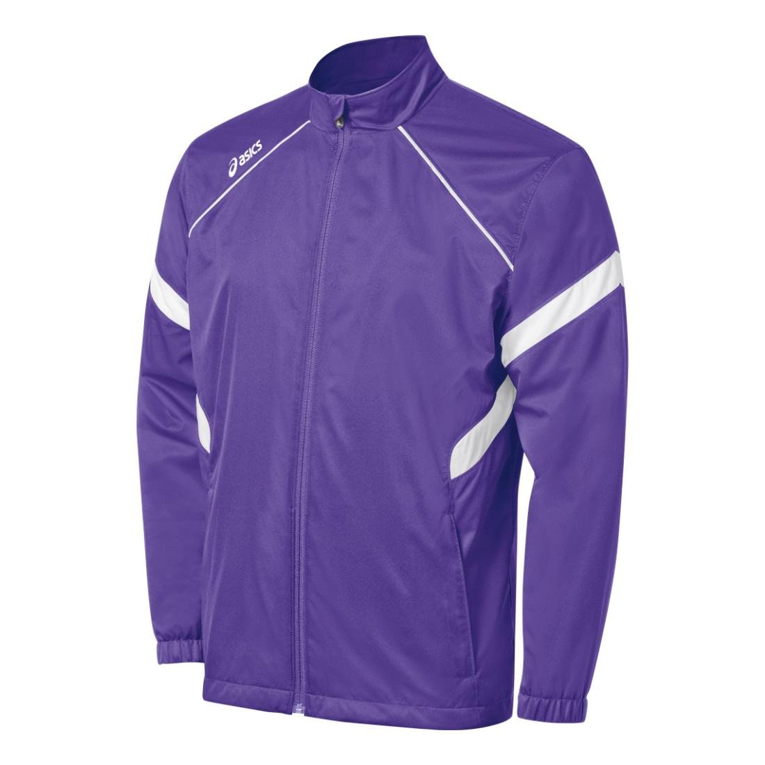 ASICS Junior Surge Warm-Up Jacket (Purple/White) asics waterproof jacket