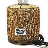 SHRUG DESIGN ロールペーパーバッグ roll paper bag (roz-2) ロールペーパーホルダーカバー トイレットペーパーホルダー ペーパー収納 ホルダー F(フリー) ウッド(1-06)