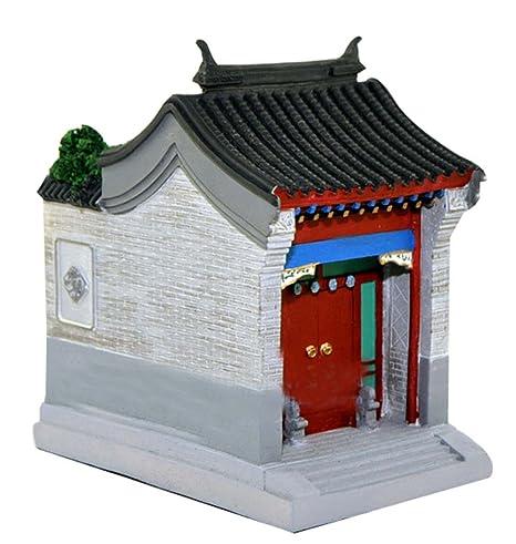 Titulaire de Beijing Courtyard Modèle Résidentiel Bâtiment Modèle Pen