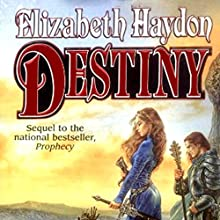Destiny: Child of the Sky (       UNABRIDGED) by Elizabeth Haydon Narrated by Kevin T. Collins
