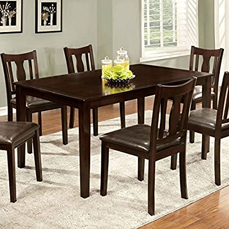 Telford Traditional Style 7-Piece Espresso Finish Dining Set