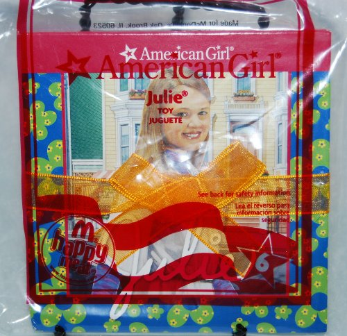 McDonalds Happy Meal 2009 American Girl Book - Julie