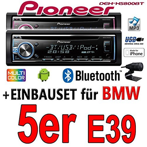 BMW 5 e39 pioneer dEH-x5800BT-cD/mP3/uSB avec kit de montage