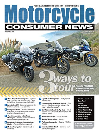 Best Price for Motorcycle Consumer News Magazine Subscription
