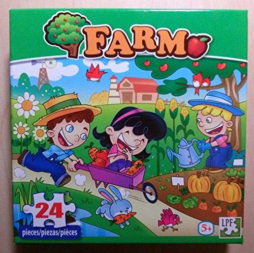 Farm 24 Piece Puzzle - 1