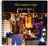 3dRose db_4398_1 What Happens in Vegas Stays in Vegas Drawing Book, 8 by 8
