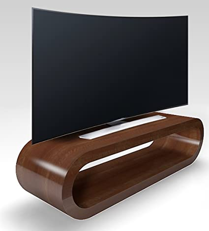 Cerceau de Style Rétro Grosse Noix Haute Brillance Meuble Tv / Armoire 110cm