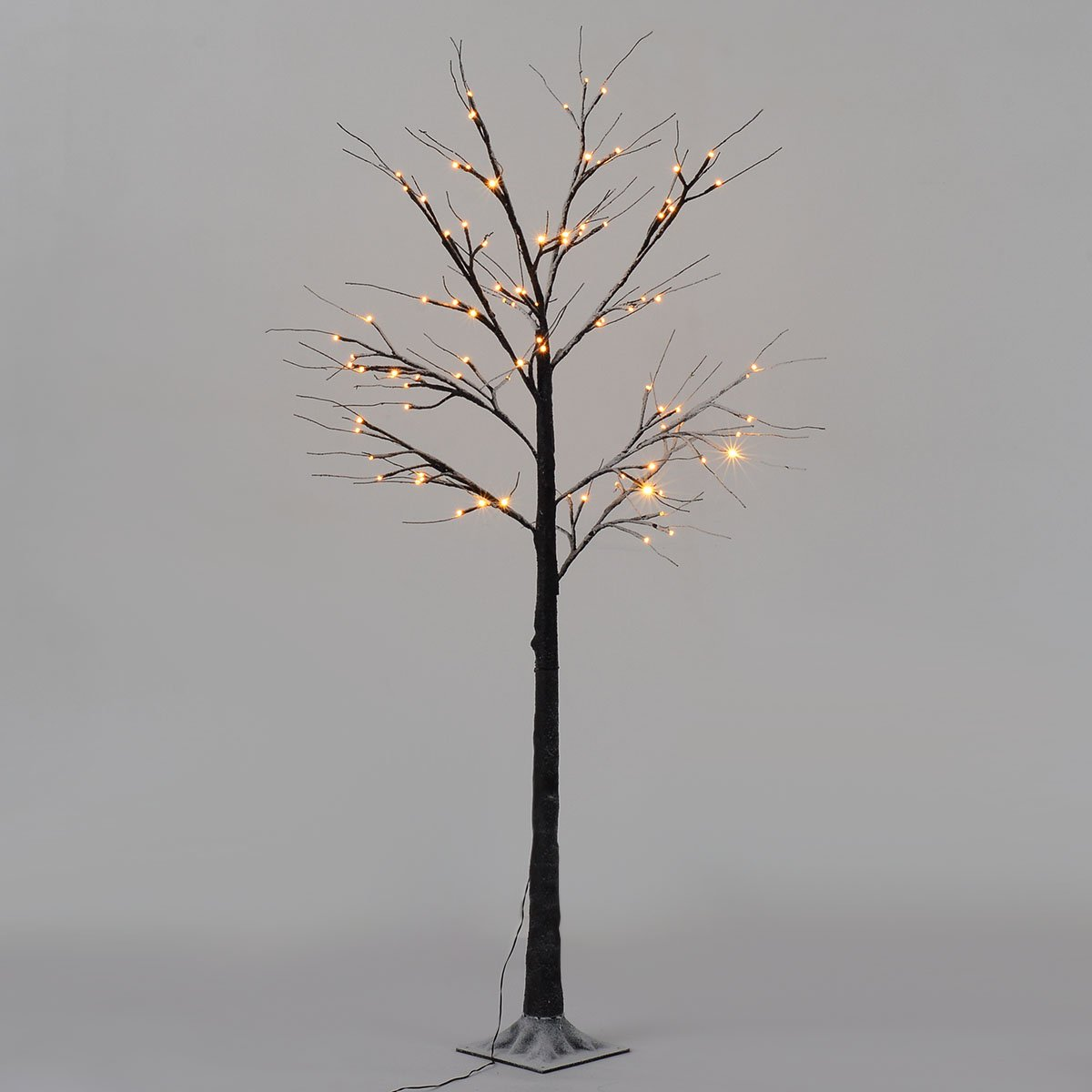 Decorative Birch Tree Lights Brown LED Warm White