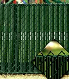 Green Privacy Fence Slats (for 4' Chain Link)