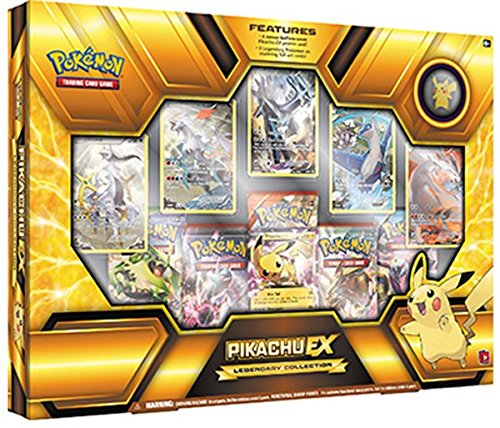 Pokemon TCG Pikachu EX Legendary Premium Collection Box Sealed (Trading Card Box Sealed compare prices)