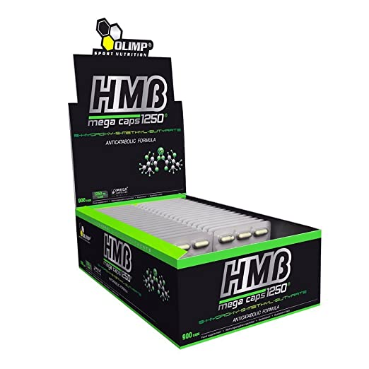 Olimp HMB Mega Caps 30x30 Kapseln, 1er Pack (1 x 1,305 kg)