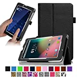 "Fintie Slim Fit Folio Case Cover for 7"" Android Phablet inclu. Dragon Touch E71 / E70 7"" Android Phone Tablet, Dragon Touch 7'' 3G Tablet PC, ProntoTec 7"" PhoneTab K3 (K3 Pro), BearTab 7 Inch Android Tablet Phone, Blue 7 Inch Unlocked Dual Sim Card Phone Tablet, Matricom 7 inch G-Tab Zeta Quad Core Phablet, IRULU 7"" Dual Core Phablet - Black"