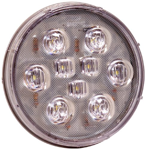 "Maxxima M42347 White 4"" Round Led Backup Light"
