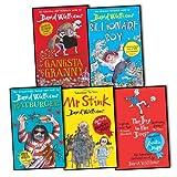 David Walliams David Walliams 5 Books Collection Pack Set RRP: £53.26 (The Boy in the Dress, Ratburger, Mr Stink, Billionaire Boy, Gangsta Granny)
