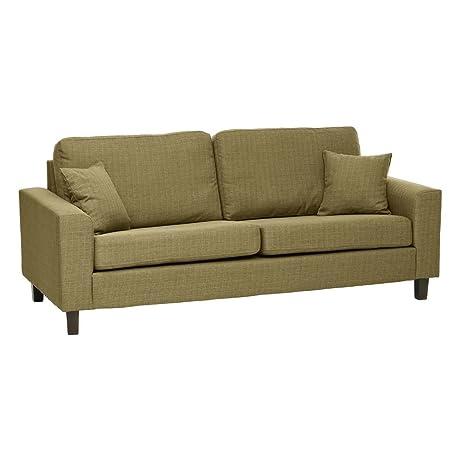Sabichi Richmond 3-Sitzer-Sofa grun Modern Weich Lounge Möbel sc00012