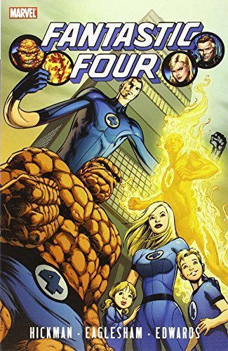 Fantastic Four By Jonathan Hickman Volume 1 TPB (Graphic Novel Pb) by Jonathan Hickman (2010-08-04)