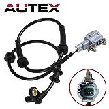 AUTEX ABS Wheel Speed Sensor Front Left/Right ALS625 compatible with Nissan Frontier & Pathfinder & Xterra 2005-2012/Suzuki Equator 2009-2012