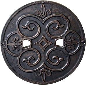 CASA NEWPORT 10-01023BP9.1 Bronze Plastic Skimmer Lid, 9.1-Inch by CASA NEWPORT