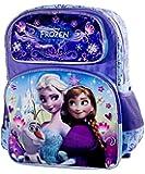 """Disney Frozen Backpack, Elsa, Anna, Olaf, Large 16"""" School Bag"""