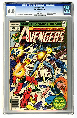 CGC 4.0 - The Avengers no. 162, August 1977 (Marvel Comics Group) (Jocasta Marvel compare prices)