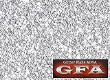 GFA グリッター フレーク シルバー 30g / ラメ カスタム ネイル ヘルメット