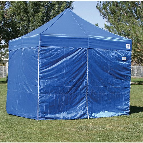 E-Z Up Express II Sidewalls for 10x10 Canopy - Blue One Size & Top Price E-Z Up Express II Sidewalls for 10x10 Canopy - Blue One Size