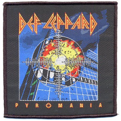 Def Leppard - Patch Pyromania (in One Size)