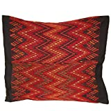 Laura Luna Textiles LL11-207 Chichi Pillow, 20-Inch by 20-Inch