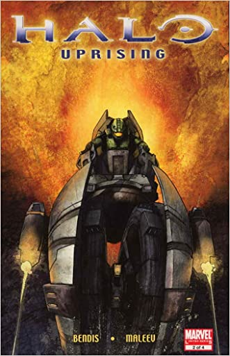 Halo Uprising #2 written by Brian Michael Bendis