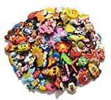 100 Pcs PVC Jibbitz Shoe Charms Fit Crocs & Jibbitz Bands Bracelet and Gifts