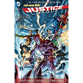 "Justice League Vol 2: The Villain's Journey (Justice League Vol II) (Kindle Edition) By Geoff Johns          Buy new: $10.69     Customer Rating:       First tagged ""dc comics"" by Aaron Fekaris"