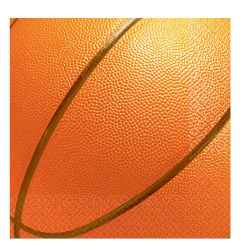 1 X Basketball Fan - Lunch Napkins Party Accessory - 1