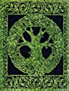 Giant Wall Tapestry ~ Green Tree Of L…
