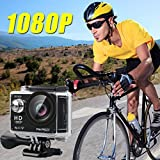 AKASO-EK5000-1080p-WIFI-Sports-Action-Camera-12MP-HD-Waterproof-Camcorder-2-Inch-LCD-Screen-170-Degree-Wide-Angle-Len-W-2-Rechargeable-Batteries-17-Mounting-Kits