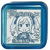 タニエバー アイドルマスター シンデレラガールズ スタンプ 神崎蘭子 TSK-75070 ブルー