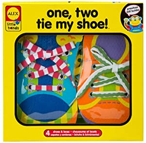 ALEX® Toys - Early Learning 1, 2 Tie My Shoe -Little Hands 570WN