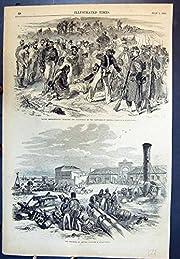 Kertch に罰された造船所である酒石の馬泥棒を 1855 121J616 印刷して下さい