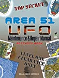 img - for AREA 51 UFO Maintenance and Repair Manual Activity Book (Dover Children's Activity Books) book / textbook / text book