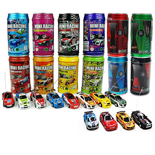 ARRIS® Multicolor Coke Can Mini RC Radio Remote Control Micro Racing Car Hobby Vehicle Toy Gift (1pcs) (Car In A Can compare prices)