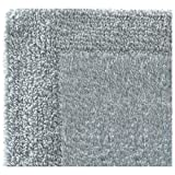 Regence Home Reversible Cotton Bath Rug, 17 by 23-Inch, Powder Blue