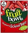 Fruit Bowl School Bars Raspberry 100 g (Pack of 6)