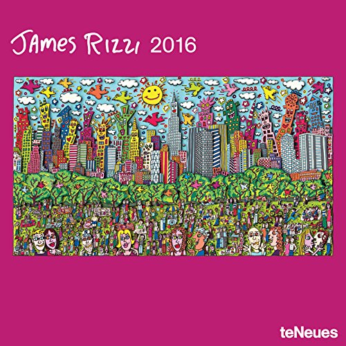 2016 James Rizzi Wall Calendar