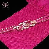 ●振袖用-絞り帯揚げ帯締めセット(上) 赤紫系[30080040]