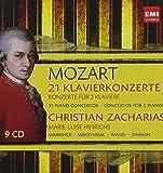 21 Piano Concertos (Coffret 9 CD)