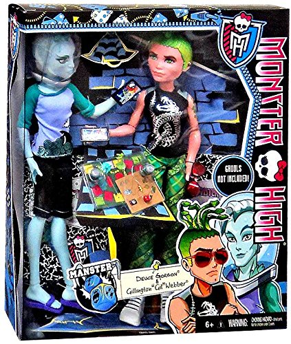Monster High Mansters 2-Pack [Gil Webber and Deuce Gorgon]