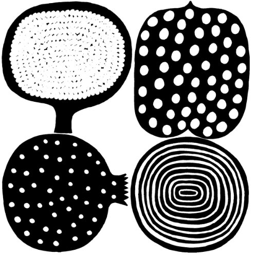 marimekko-finlandese-designer-marimekko-kompotti-nero-tovaglia-di-carta-confezione-da-20-tovaglioli