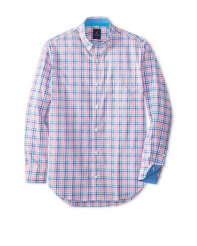 TailorByrd Men's Lexington Long Sleeve Checked Modern Sportshirt